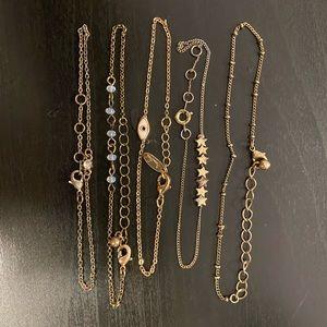 Lot of 5 bracelets from Brandy Melville